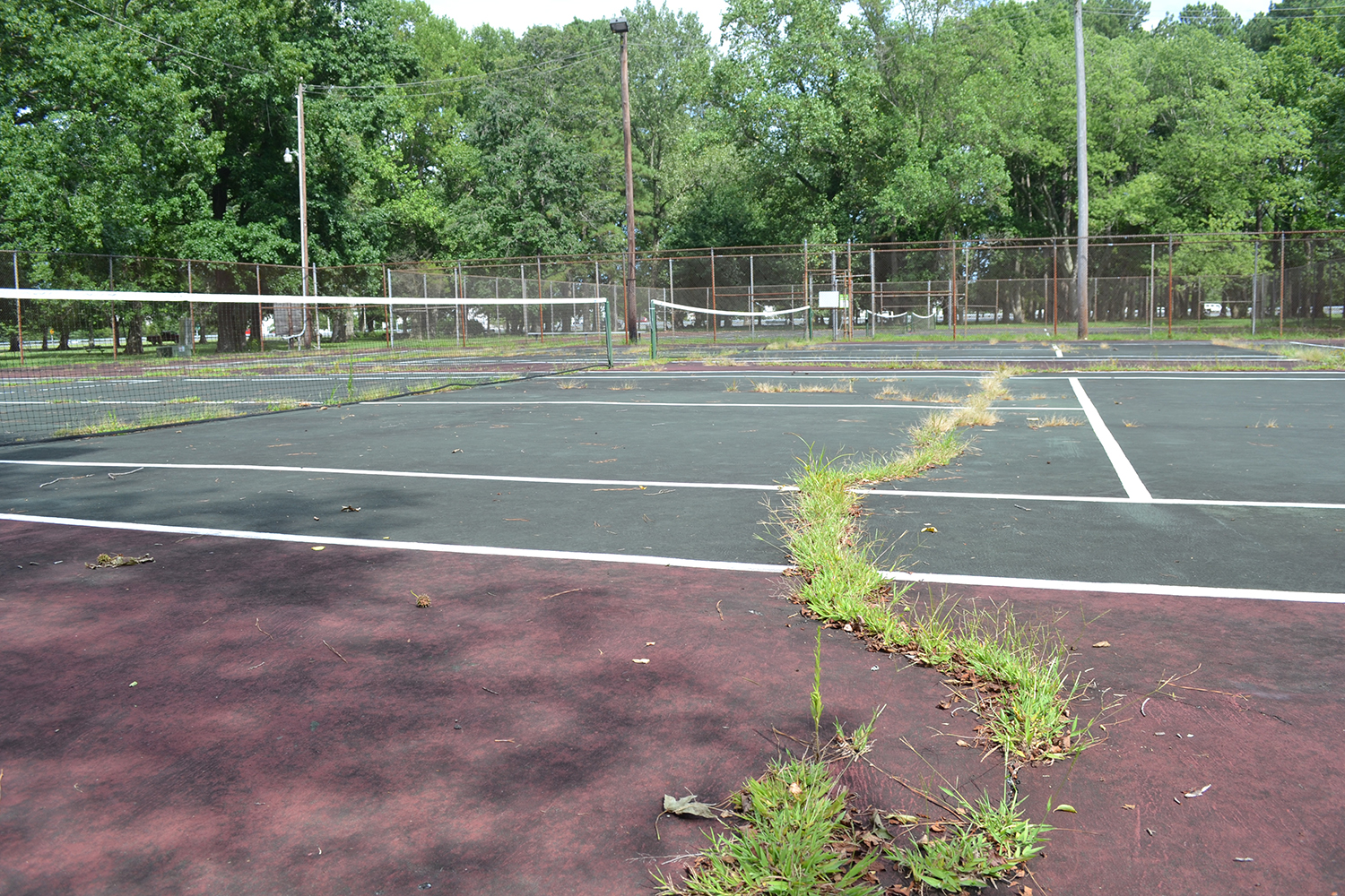 'Long Time Coming' Berlin Tennis Court Project Moving Ahead