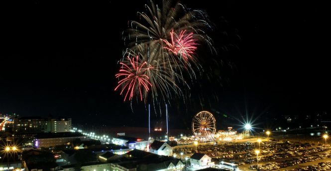 Ocean City To Keep Fireworks Start Time At 10:30