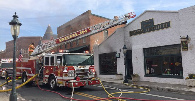 Berlin Merchants Regrouping After Devastating Fire
