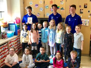 "SD High School Varsity Baseball Team Spends Day At OC Elementary As Part Of ""Read Aloud"" Day"