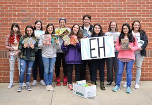 Over 3,000 Books Collected During SD High School National English Honor Society Annual Spring Book Drive