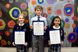 Two Worcester Prep Third Graders Tie For Second And Another One Earns Third Place In Americanism Essay Contest