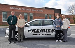 SD High School Juniors Ally Hunter And Jagger Clapsadle Named Premier Driving School Athletes Of The Month