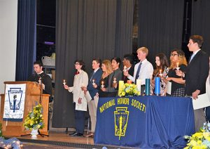 Record 109  Students Inducted Into SD High School National Honor Society