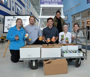 SD High School National Honor Society Donates Canned Goods To Diakonia