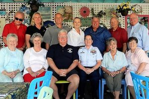 OC Museum Society Members Bid Farewell To OC Coast Guard Station Master Chief Timaree Sparks