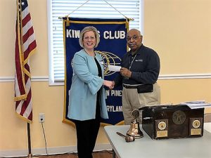Cedar Chapel Special School Receives $400 Donation From Kiwanis Club Of Greater Ocean Pines-Ocean City