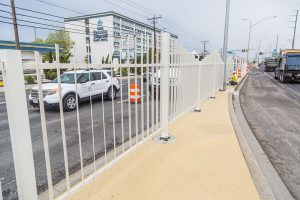 Coastal Highway Median Fence Project Wrapping Up Thursday