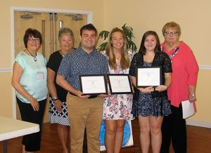 Women's Club Of Ocean Pines Announces Recipients Of College Scholarships