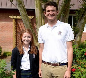 Two Worcester Prep Sophomores Selected To Attend Hugh O'Brian Youth Leadership Seminar