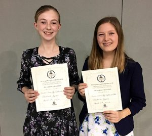 Two Worcester Prep Students Advance To Ocean City/Berlin Optimist Oratorical Competition Semi-finals