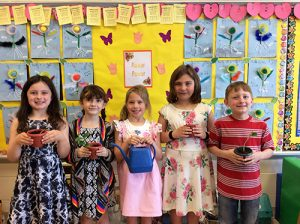 Ocean City Elementary Kindergarten Students Learn About Plants And Their Life Cycles
