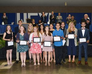 Thirteen SD High School Students Honored At Annual Berlin-Ocean City Optimists WeXL Banquet