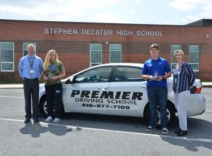 Bunting And Cioccio Named SD High School Premier Driving School Athletes Of The Month