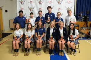 Worcester Prep Awards Spring Sports Middle School Winners