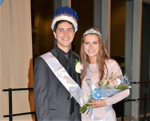 Zaiser  And Marx Crowed Stephen Decatur High School Prom King And Queen