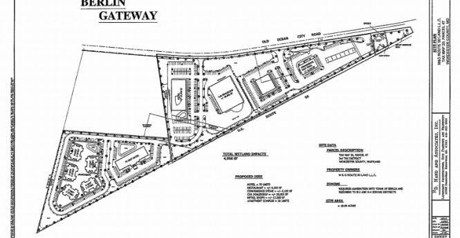 Berlin Developer Shares Commercial Plans For Gateway Property; Annexation Likely Sought For Land