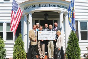 Beebe Medical Foundation Receives $21,000 Donation To Benefit Beebe Healthcare's Tunnell Cancer Center