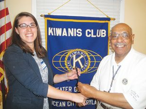Kiwanis Club Members Learn About Maryland Citizens' Health Initiative