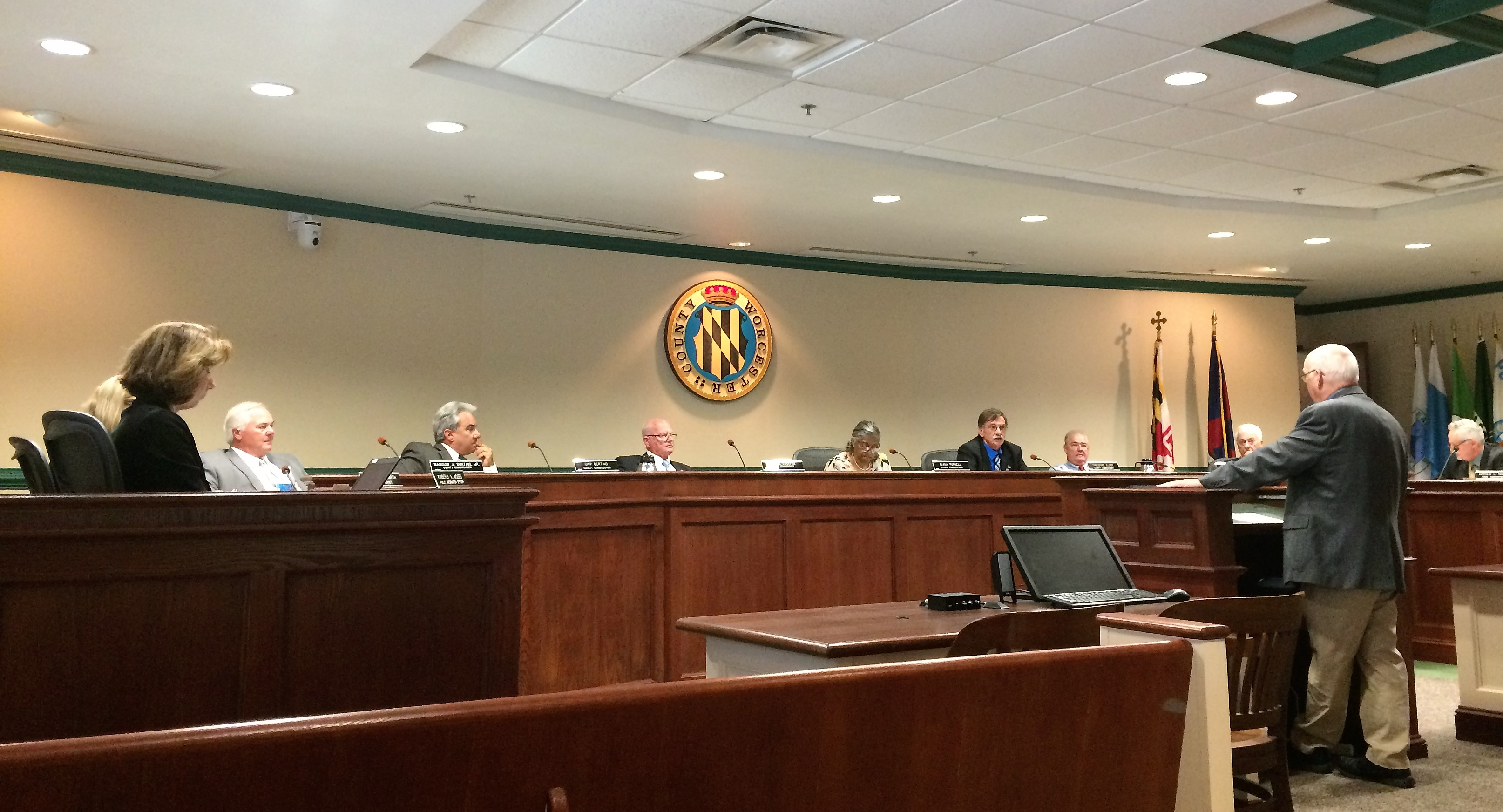Commissioners Question Ongoing Radio System Problems