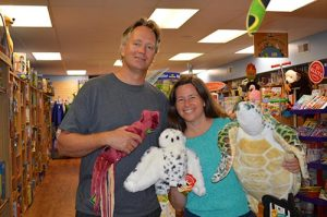 Couple Proud To Offer Full-Service Toy Stores At The Beach