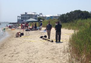 UDPATE: Submerged Barrel Found, Lost, Then Found Again; Recovered Bone Transported Tuesday To Medical Examiner's Office