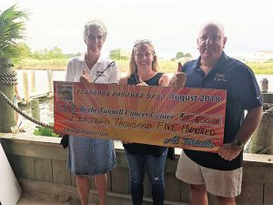 Paradise Marina And Grill And Short's Marine Hold Awards Ceremony For Their Annual Flounder Pounder Tournament