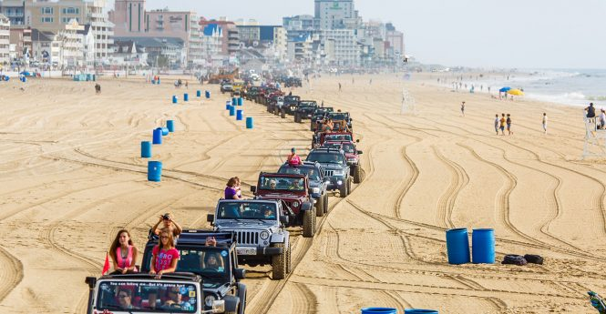 Beach Obstacle Course Added To Jeep Week Event