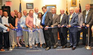 Positive Vibes Celebrate Berlin Library's Ribbon Cutting