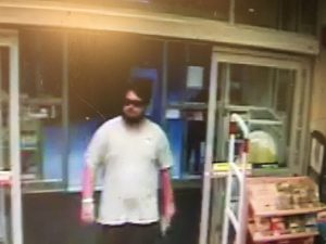 Suspect Sought For Pharmacy Threat