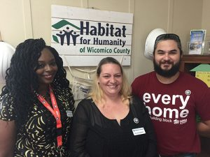 Habitat For Humanity Of Wicomico County Announces Partnership With SU's ShoreCorps AmeriCorps Programs