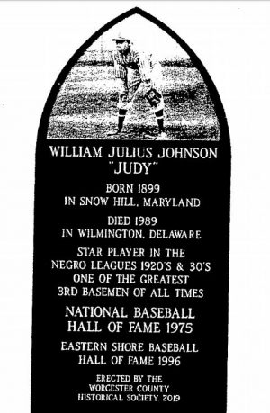 Judy Johnson Memorial Marker Planned For Library