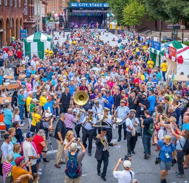 Salisbury Estimates 60K Attended First Folk Festival