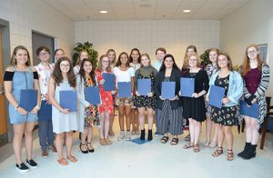 Eighteen Stephen Decatur High School Students Inducted Into National English Honor Society