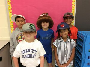 OC Elementary First Graders Support Heavenly Hat Foundation