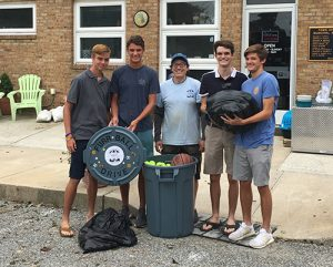 Worcester Prep Freshmen Collect And Donated Athletic Balls To Benefit Worcester County Humane Society
