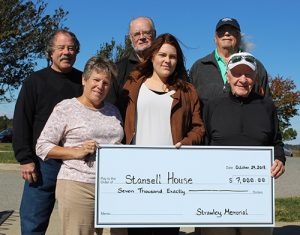 $7,000 Raised For Macky & Pam Stansell House From Second Annual Michael J. Strawley, Sr. Memorial Golf Tournament