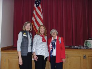 Daughters Of The American Revolution Participate In Veterans Day Ceremony